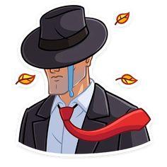 Набор стикеров для Telegram «Секретный агент» Emoji Man, Mafia, Donald Duck, Disney Characters, Fictional Characters, Men Art, Dinner Suit, Minecraft Mansion, Masculine Art