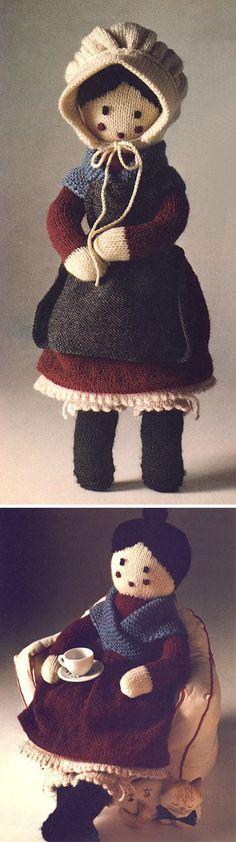 Grandmother Doll - Free Knitting Pattern