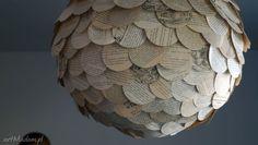 Lampa Sen Antykwariuszki papierowa. $156
