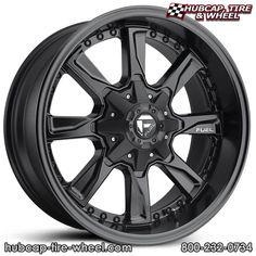 Kmc xd seires rockstar 3 xd827 matte black w black split spoke fuel d604 hydro matte black wheels rims available in 5 sciox Images