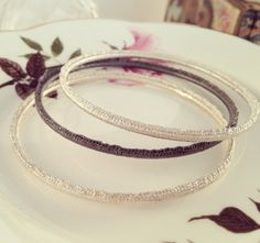 Stitch n' Stack Bangles by Ebba Goring