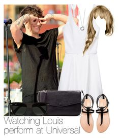 """""""Watching Louis perform at Universal"""" by style-with-one-direction ❤ liked on Polyvore"""