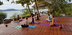 Many beautiful places for yoga Muay Thai, Outdoor Furniture, Outdoor Decor, Sun Lounger, Beautiful Places, Yoga, Activities, Sunset, Sunsets