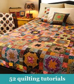 52 quilting tutorials