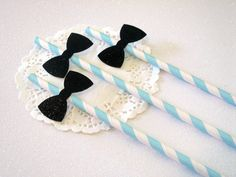 Little Man Decorations Little Man Birthday Straws Bow Tie Decorations Bow Tie Straws Boy Baby Shower Boy Baby Sprinkle Boy Sip and See