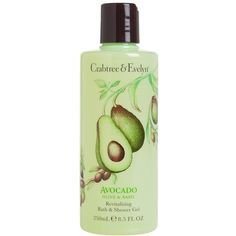 Crabtree & Evelyn 'Avocado, Olive & Basil' Bath & Shower Gel ($22) ❤ liked on Polyvore featuring beauty products, bath & body products, body cleansers, fillers, beauty, cosmetics, no color and crabtree & evelyn