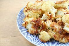 Roasted Parmesan Breaded Cauliflower | Love to be in the Kitchen