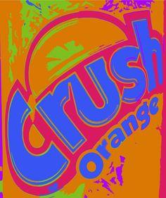 Can of Orange Crush  Photo/art: Mike Schulze ©2015