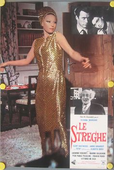 "Silvana Mangano in ""Le Streghe"""
