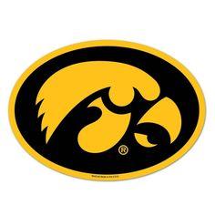 Iowa Hawkeyes NCAA Automotive Grille Logo on the GOGO