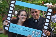 Marco para fotos Boda Andrea & Carlos