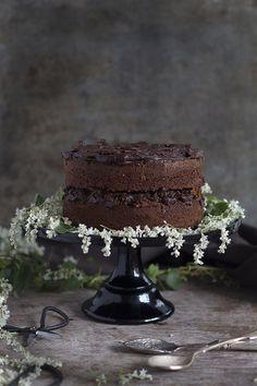 Tarta de chocolate aceite de oliva y sal. To be Gourmet | Recetas de cocina, gastronomía y restaurantes.