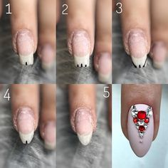 Image may contain: one or more people and closeup Hair And Nails, My Nails, Nail Courses, Statement Nail, Nailart, Cool Nail Art, Cute Nails, Nail Art Designs, Shapes