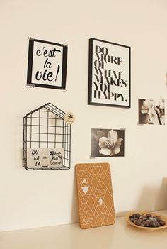 Home Shabby Home - My bedroom:wall decoration