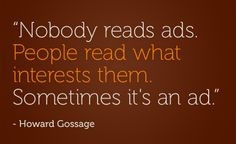 """Howard Gossage (1917-1969), advertising innovator, known as """"The Socrates of San Francisco""""."""