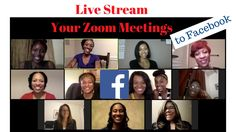 Live Stream Your Zoom Meetings to Facebook - YouTube