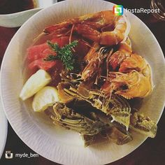 Thanks @myda_Ben for sharing #jennas special New Year's seafood starter. Happy 2016.  #aonang #krabi  #krabirestaurant #tigerprawns #tunasushi #oysters #shellfishdelight #thailandseafood