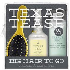 Drybar Texas Tease Big Hair To Go Set