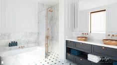 Apartament Na Mokotowie, 86,4 M² - zdjęcie od Decoroso Architektura Wnętrz - Łazienka - Styl Klasyczny - Decoroso Architektura Wnętrz
