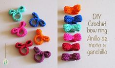 Crochet Bow Ring