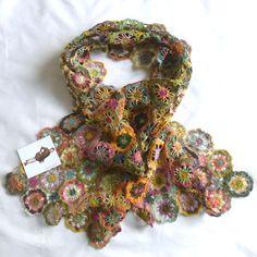 Etole Sophie Digard crochet scarf