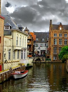 If you ever visite Belgium see^Historic Centre of Brugge, And the food is sublime too..