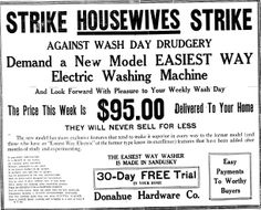 1920'S+Advertising | The copper washing machine pictured below was made by the Easiest Way ...