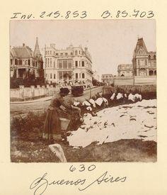 1890's Lavandera en Buenos Aires