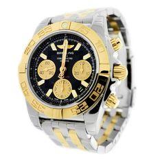 BREITLING CHRONOMAT 41 STAINLESS STEEL MEN'S WATCH CB014012-BA53-378C