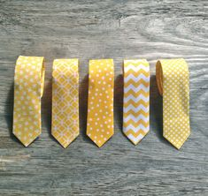 Men's Yellow Tie Yellow Wedding Yellow Groomsmen by littlevys, $26.00