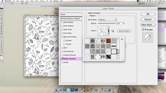 Scathingly Brilliant: how to make a seamless repeating pattern