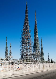 Watts Towers is one of our picks for the must-see architectural landmarks in Los Angeles, California. See the rest now.