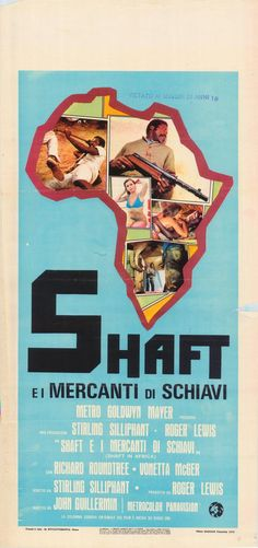 Shaft in Africa (1973) (Italy)