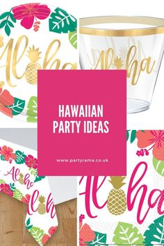 Create a hawaiian themed party for your birthday, anniversary or another special occasion, with our range of partyware, tableware, balloons and decorations. Party Themes, Party Ideas, Best Part Of Me, Hawaiian, Party Supplies, Birthday Parties, Special Occasion, Balloons, Tropical