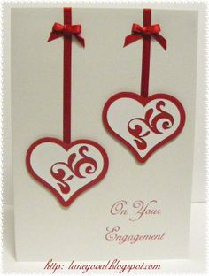 Idea for engagement card