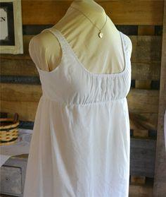 The Story of a Seamstress: Regency Bodiced Petticoat