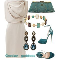This color would wash out my complexion, but I love the style of this dress!