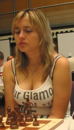 Natialie #Zhukova #chess #women