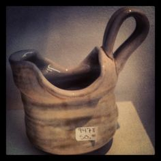 Gravy Boat / Creamer by Jamie Diaz.  So soft and luscious pottery!