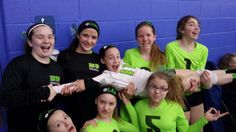 My 12 year old team at a 13's tournament! We got 2nd! Team pose!