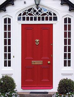 Front Door Paints.  Modern Master paint.  Supposedly it never fades?