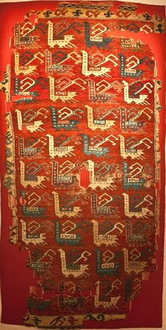 bird rug Konya Ethnographic Museum