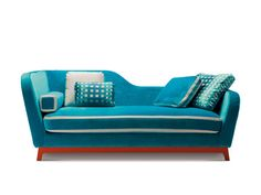 Upholstered sofa JEREMIE TRENDY by Milano Bedding | design Eric Berthès