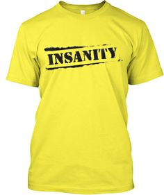 LIMITED EDITION Insanity Workout Fitness | Teespring