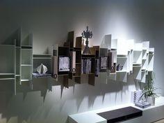 The Randomito shelf by MDF Italia in a new colour - WOW!