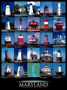 lighthouses of Maryland,love the eastern shore and Chesapeake Places To Travel, Places To See, Lighthouse Lighting, Lighthouse Pictures, Baltimore Maryland, Maryland Md, Annapolis Maryland, Wisconsin, Michigan