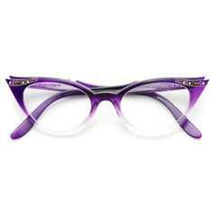 a7ce5bb6c5d Purple Fade Fashion Eye Glasses