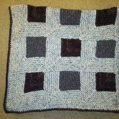 Knitted blanket - Deborah Schwyter