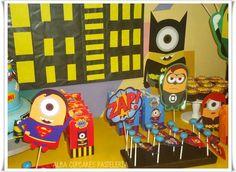 Minions superhero para Giovanni | CatchMyParty.com