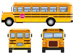 """Photo from album """"Автобус, трамвай"""" on Yandex. School Bus Clipart, Bicycle String Art, School Bus Crafts, Bus Drawing, Bus Cartoon, Bus Stop Design, Art Transportation, Art In The Park, Classroom Background"""